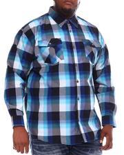 Buyers Picks - Yarn Dyed Plaid Woven Shirt (B&T)-2551857