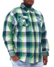 Buyers Picks - Yarn Dyed Plaid Woven Shirt (B&T)-2551870