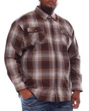 Button-downs - Yarn Dyed Plaid Woven Shirt (B&T)-2551909