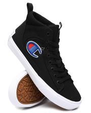 BLVCK - Fringe Hi Canvas Sneakers-2552107