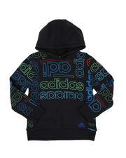 Adidas - Multi Grid Fleece Hoodie (8-20)-2549853