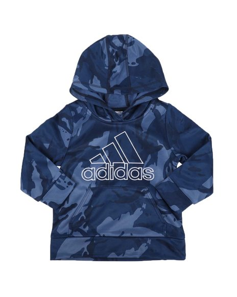 Adidas - Core Camo Pullover Hoodie (2T-7)
