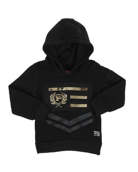 Phat Farm - Embossed Metallic Patch Fleece Hoodie (2T-4T)