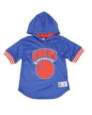 Mitchell & Ness - New York Knicks Unbeaten Mesh Hoody (8-20)-2550153