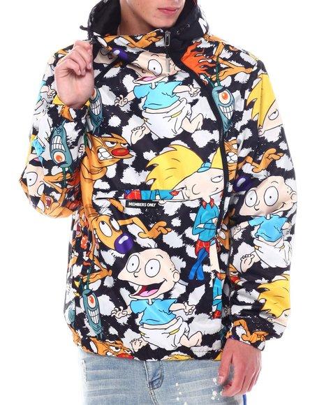 Members Only - Members Only X Nickelodeon - Mash Asymmetrical Zip Jacket