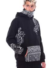 Going-Out-Outfits - Bandana Face-Cover Hoodie-2550882