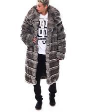 Jordan Craig - Vegan Chinchilla Long Coat-2551914