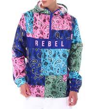 Buyers Picks - Colorblock Paisley Anorak-2550973
