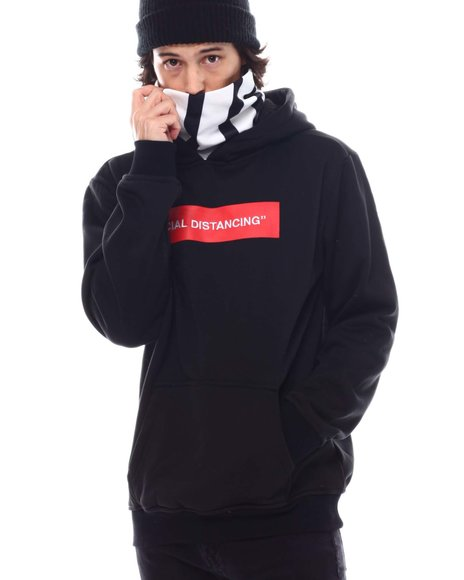 Reason - Distancing Face-Cover Hoodie