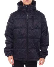 Members Only - Black Camo SHERPA LINED Puffer-2551240