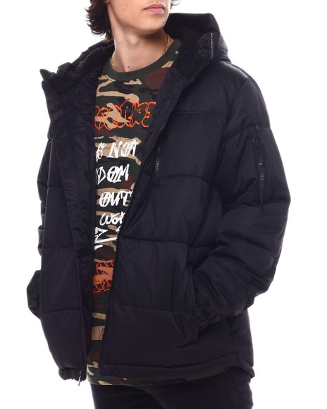 Members Only - SHERPA LINED Puffer
