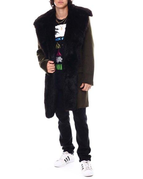 Jordan Craig - Pea coat w Faux Fur