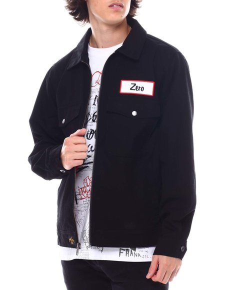 HUF - ZERO TWILL MECHANIC JACKET