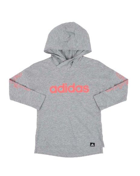 Adidas - Long Sleeve Hooded Tee (4-6X)