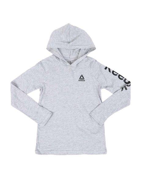 Reebok - Clasic Delta Pullover Hooded T-Shirt (8-20)