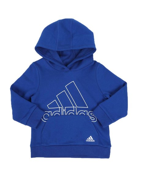 Adidas - BOS Fleece Hooded Pullover (2T-7)