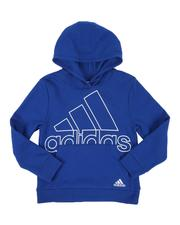 Adidas - BOS Fleece Hooded Pullover (8-20)-2550185