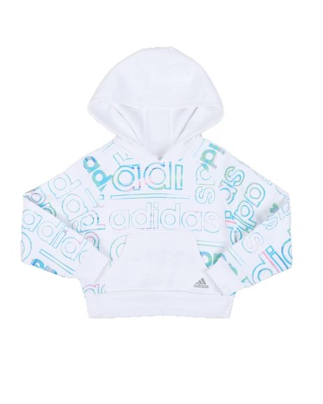 Adidas - All Over Print Pullover Hoodie (2T-6X)