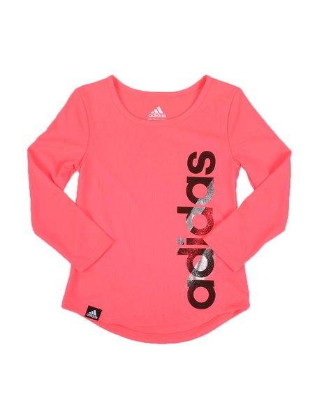 Adidas - Scoop Neck Tee (2T-4T)