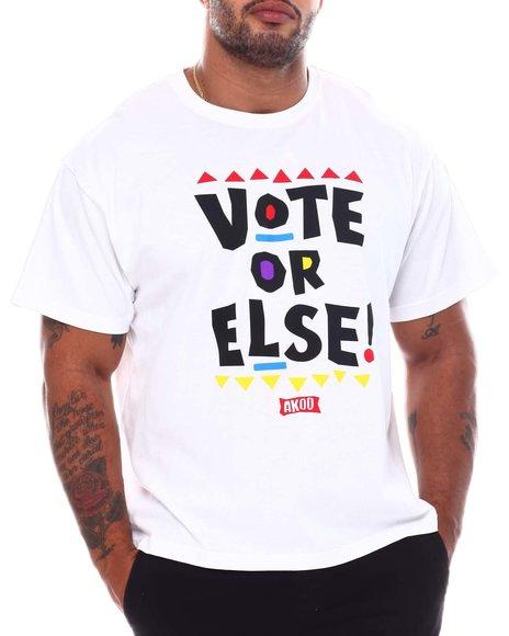 AKOO - Vote Or Else T-Shirt (B&T)
