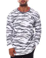 Ecko - Tiger Camo Ribbed Up Thermal Top (B&T)-2554011