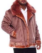 Makobi - Makobi Bonded Suede Moto Jacket (B&T)-2554249
