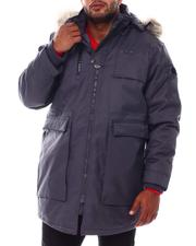 Big & Tall Faves - Glacier Heavyweight Parka Coat (B&T)-2554260