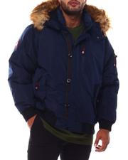 Big & Tall Faves - Hooded Parka Bomber Coat (B&T)-2554276