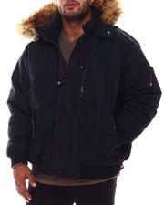 Big & Tall Faves - Hooded Parka Bomber Coat (B&T)-2554379