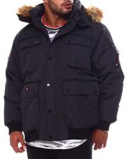 Big & Tall Faves - Hooded Parka Bomber Coat (B&T)-2554424