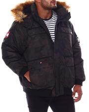 Big & Tall Faves - Hooded Parka Bomber Coat (B&T)-2554467