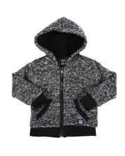 Arcade Styles - Sherpa Lined Zip Up Hoodie (2T-4T)-2551991