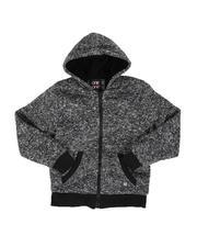 Hoodies - Sherpa Lined Zip Up Hoodie (8-18)-2551995