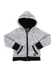 Arcade Styles - Sherpa Lined Zip Up Hoodie (2T-4T)-2551680