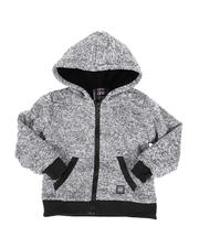 Sizes 4-7x - Kids - Sherpa Lined Zip Up Hoodie (4-7)-2551955