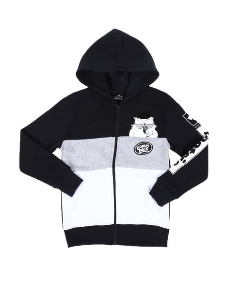 Southpole - Southpole x Tootsie Full Zip Hoodie W/ Chenille Patch (8-20)