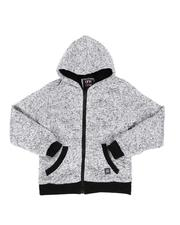 Arcade Styles - Sherpa Lined Zip Up Hoodie (8-18)-2551930