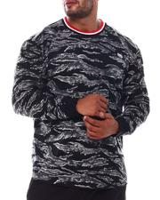 Ecko - Tiger Camo Ribbed Up Thermal Top (B&T)-2554001