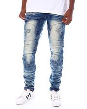 Men - Stretch Moto Jean w Rips and Articulated Knee-2553560