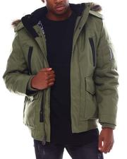 Men - Igloo Insulated Hooded Jacket w Patch Pocket Detail-2555272