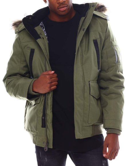 Buyers Picks - Igloo Insulated Hooded Jacket w Patch Pocket Detail