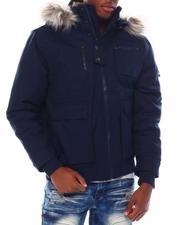 Men - Blizzard Short Parka w Sherpa and Faux Fur-2555377