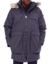 Men - Glacier Heavyweight Parka w Faux Fur-2555418