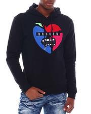 Hoodies - BROKEN HEART CHENILLE PATCH L/S HOODIE-2553257