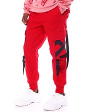 SWITCH - Twill Jogger w Buckle Strap-2554689