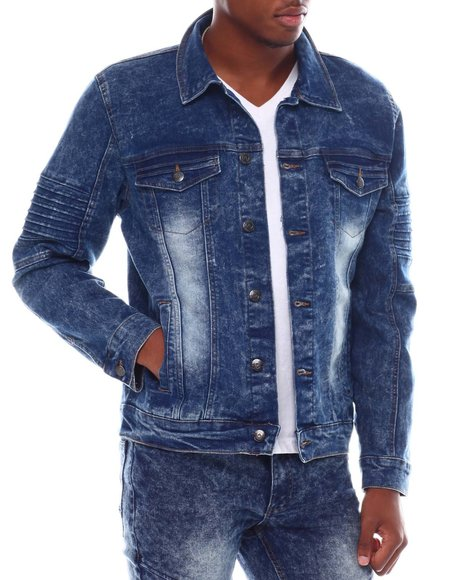 Akademiks - Moto Denim Jacket