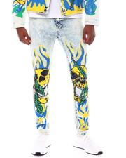 Jeans & Pants - Skull and Flames Jean-2555241