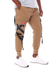 SWITCH - Twill Jogger w Buckle Strap-2554677