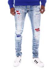 SMOKE RISE - Color Patch Repair Jean-2555217