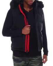 Jordan Craig - Puffer Vest w Faux Fur Trim-2555653